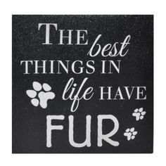 Another great find on 'The Best Things in Life Have Fur' Canvas Wall Décor by Cheung's Rattan Imports Canvas Wall Decor, Canvas Signs, Diy Canvas Art, Wood Canvas, Canvas Ideas, Canvas Painting Quotes, Canvas Quotes, Diy Painting, Canvas Paintings