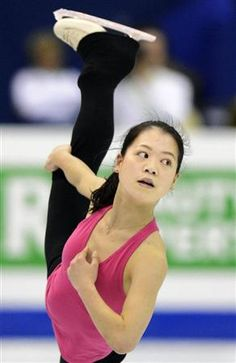Akiko Suzuki:Japan(Practice) : Figure Skate World Championship 2012