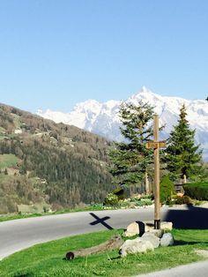 View of Mase Wallis Switzerland