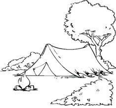 Camping sure is fun. Getting back to nature is so refreshing. So unpack your tent AND your crayons, because it's time to color. Print our coloring pages for free. Camping Coloring Pages Forest Coloring Pages, Camping Coloring Pages, Garden Coloring Pages, Family Coloring Pages, Spring Coloring Pages, Bear Coloring Pages, Truck Coloring Pages, Flower Coloring Pages, Coloring Pages To Print