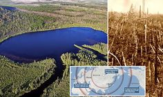 Mystery deepens over world's biggest explosion in Russia | Daily Mail Online