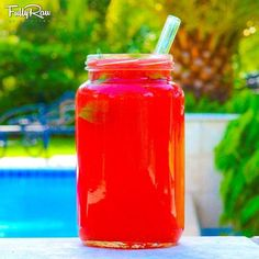 FullyRaw Watermelon Juice!  It's one of the first recipes I made on YouTube and my favorite video so far! Over 1 million views later, it's so exciting to see the message of eating healthy, vegan foods spreading! What's my secret to make this juice taste deliciously pink?! WATCH HERE: http://youtu.be/Mp2NBdOrHoM