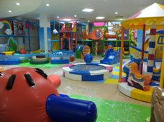 A world of toddlers? I'll be in the cafe! A great spot for kids in Phnom Penh.