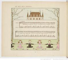 Vieilles chansons et rondes pour les petits enfants, notées avec des accompagnements faciles / par Ch. M. Widor ; Illustrations de M. Boutet de Monvel