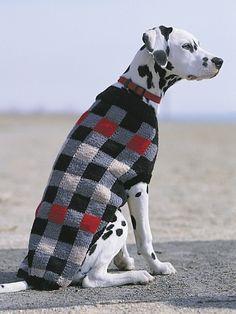Canine Checks   Yarn   Free Knitting Patterns   Crochet Patterns   Yarnspirations
