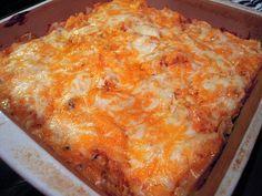 King Ranch Chicken - a Tex-Mex chicken cassarole