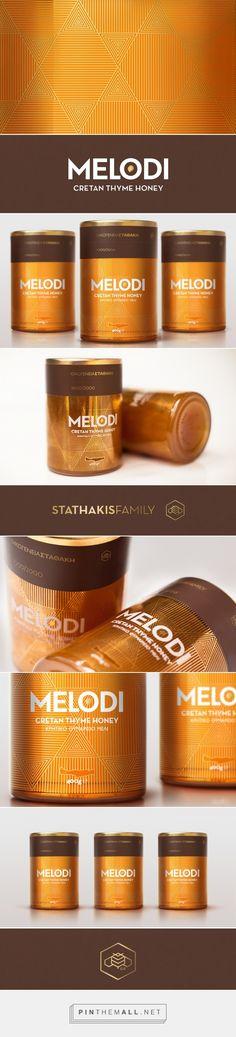 MELODI an ode to honey Package Designed by Antonia Skaraki