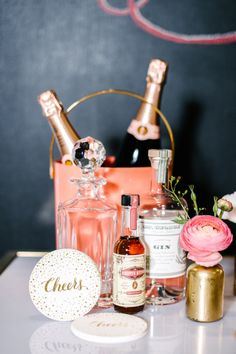 Cocktail necessities: http://www.stylemepretty.com/living/2015/06/12/kate-spade-inspired-dinner-party/ | Photography: Melanie Duerkopp - http://melanieduerkopp.com/