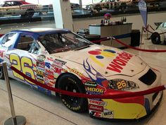 Ricky Bobby's car in the #NASCAR Hall of Fame #TalladegaNights