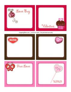 50 Cute Free Printables for Valentines Day | Living Locurto - Free Party Printables, Crafts & Recipes
