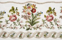 Buy online, view images and see past prices for * Embroidery. A large piece of Regency embroidery, circa Invaluable is the world's largest marketplace for art, antiques, and collectibles. Floral Embroidery, Hand Embroidery, Machine Embroidery, Goldwork, Framed Maps, Regency Era, March 4, Modern Art Prints, Cutwork