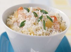 Pina Colada Shrimp & Rice - Minute Rice Recipes ... this has the potential to be tasty.