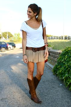 Very cute outfit. love the boots!