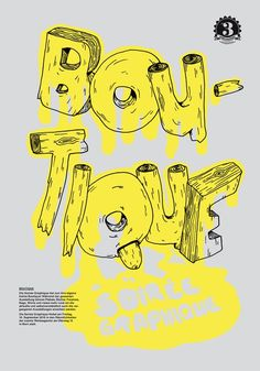Boutique - typography & poster design