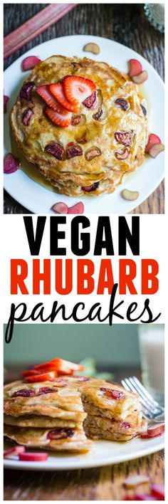 Awesome vegan rhubar