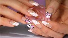 Nail art french manucure de mariage / How to do a wedding manicure Tartofraises