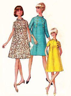 Modern vintage-60s Vintage A line