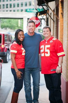 Engagement photo with Troy Aikman - Photo by Jenny & Eddie True Love Stories, Love Story, Outdoor Engagement Photos, Troy Aikman, Wmbw, May Weddings, Interracial Couples, Couples In Love, Mr Mrs