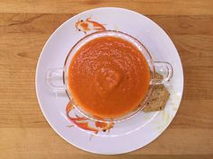 Fresh Tomato Soup : a Panera classic Fresh Tomato Soup, Panera Bread, Good Enough To Eat, Classic, Blog, Style, Derby, Swag, Classic Books