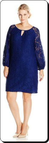 Clothing, Furniture and Accessories: Sleeve Scalloped Lace Dress