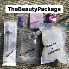 lip gloss business packaging DIY Lipgloss Kit//Make your own lipgloss kit thebeautypackage Glitter Lip Gloss, Diy Lip Gloss, Glitter Lips, Business Baby, Business Ideas, Business Goals, Lip Gloss Homemade, Gloss Labial, Beauty Packaging