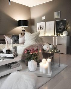20 Very Cozy and Relaxing Living Room Decor Ideas to Renovate Your Home Bedroom Design Trends, Home Trends, Bedroom Design, Living Room Scandinavian, Home Decor, Living Room Grey, Beautiful Living Rooms Decor, Living Decor, Scandinavian Design Living Room