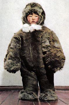 Young Yakut, Soviet Union, circa 1980.