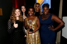 Pin for Later: All the Stars, Smiles, and Wins From the Critics' Choice TV Awards  The Orange Is the New Black girls practically glowed with their win.