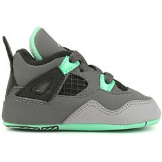 f6d4ff0d5e83d3 JORDAN RETRO 4 NEWBORNS SNEAKERS ( 45) ❤ liked on Polyvore featuring shoes
