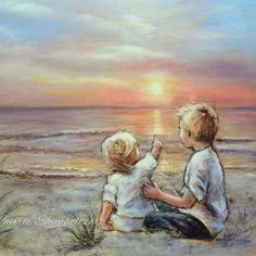 """Priced $18 to $125  Canvas and reproduction prints of """"GOOD MORNING SUNSHINE """" by Laurie Shanholtzer."""
