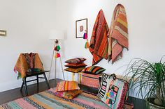 Decorating with Peruvian Textile