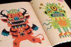 bonbek-magazine-cover-monster-illustration-monsters