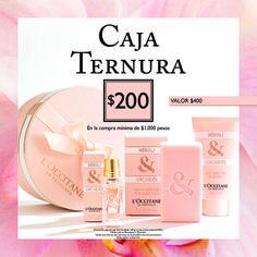 """¡En la compra mínima de $1000 pesos, llévate la #CajaTernura """"Neroli y orquídea"""" de #LOccitane a mitad de precio!"""