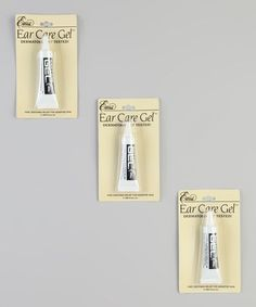 Another great find on #zulily! Ear Care Gel - Set of Three by E'arrs #zulilyfinds