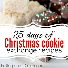 Are you ready for holiday baking? Try out some of these delicious Christmas Cookie Exchange Recipes to try this week.