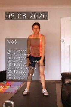 Crossfit Legs, Crossfit Leg Workout, Crossfit Bootcamp, Full Body Kettlebell Workout, Crossfit Workouts At Home, Full Body Workout Routine, Kettlebell Cardio, Fit Board Workouts, Belly Fat Workout