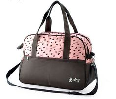 Baby Diaper Bags Multifunctional Mommy Satin Fabrics Bags
