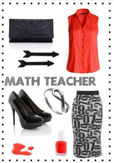 Math teacher outfit