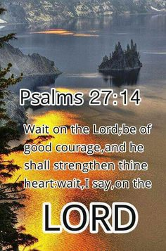 Trust in God and wait on Him for direction.  He will give you courage and peace.  Psalms 27:14