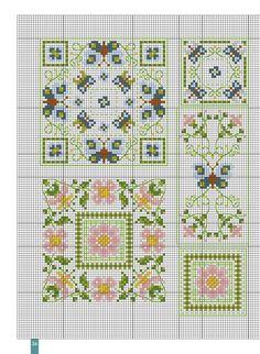 biscornus_76133  4 5 36 3716 3822 3348 3347 926 37 310 224 415 321 54 Modèles du bas à gauche photographiés page 11. 55 Modèles du haut à droite et en bas photographiés page 11.