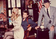 Anna Torv, Joshua Jackson & John Noble - Entertainment Weekly photoshoot #Fringe