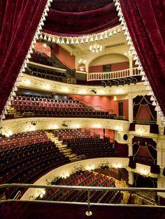 Theatre Royal Newcastle, the winter season home of the Royal Shakespeare  Company.  Sally Ann Norman photograph.