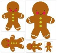 All sorts of gingerbread activities for preK-Kinder kids that go with The Gingerbread Baby or The Gingerbread Man stories