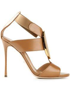 SERGIO ROSSI - cross strap sandal