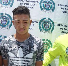 En Riohacha: Policía Nacional captura y notifica dos personas por utilización de niños en comisión de delitos