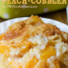 Super Easy Peach Cobbler Recipe | Yummly