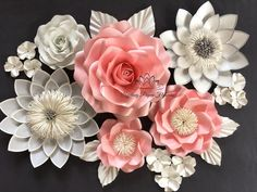 A personal favourite from my Etsy shop https://www.etsy.com/au/listing/522973501/paper-flower-backdrop-roselotuspaper