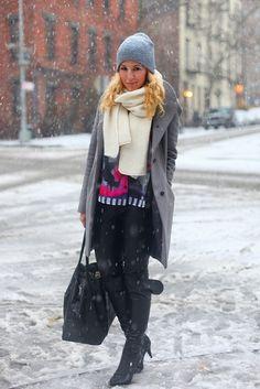 Scarf -- Brooklyn Blonde