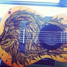 I want this guitar art on my guitar!