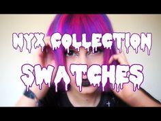 Auri Daer: NYX Cosmetics Collection ♡ Lippies, Eyeshadows & m...
